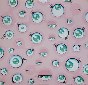 """Takashi Murakami """"jellyfish Eyes"""""""