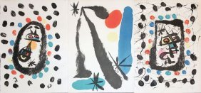 "Joan Miro ""drawings And Lithographs"""