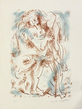 "Andre Masson, One Plate From ""flight Portfolio"""