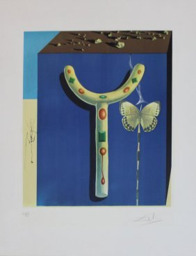 "Salvador Dali ""surrealist Crutches"""