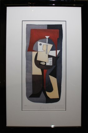 "Pablo Picasso (after) ""guitar On Pedestal"""