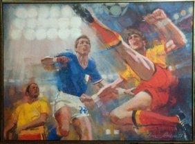 """Jim Jonson """"bicycle Kick (soccer)"""""""