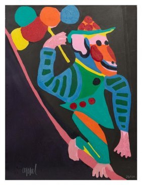 "Karel Appel ""monkey (from Circus)"""