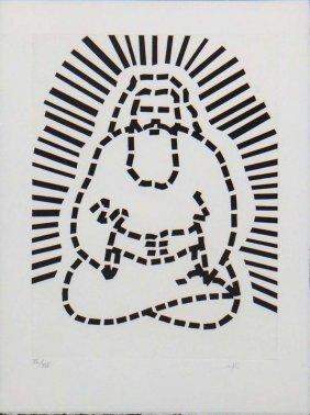 """Roy Lichtenstein """"passage Du Nord-ouest"""""""
