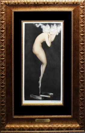 "Louis Icart ""illusion"""