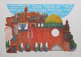 "Amram Ebgi ""tefila At The Wall"""