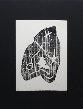"""Joan Miro """"20 April, 1963"""""""