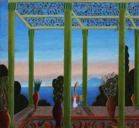 """Thomas Mcknight """"untitled (aegean Rainbow)"""""""