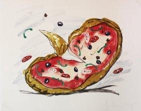 "Claes Oldenburg ""pizza Palette"""