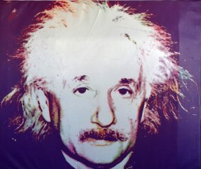 """Steve Kaufman """"albert Einstein"""""""
