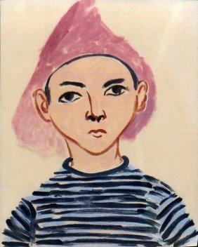 """Henri Matisse """"pierre Matisse"""""""