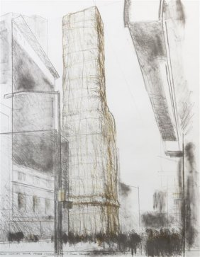 """Christo """"allied Chemical Tower"""""""