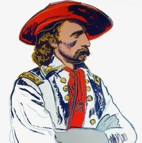 "Andy Warhol ""general Custer"""