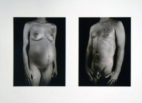 """Chuck Close """"doctors Of The World"""""""