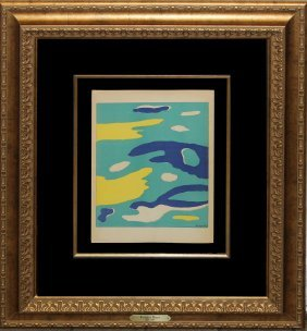"Fernand Leger ""l'eau"""