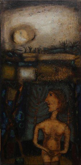 """James Coignard """"nude In Landscape"""""""