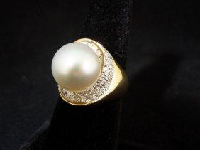 18kyg Pearl Ring