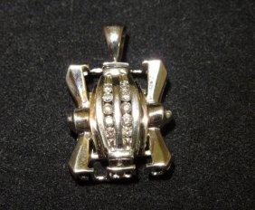 10kwg Diamond Pendant