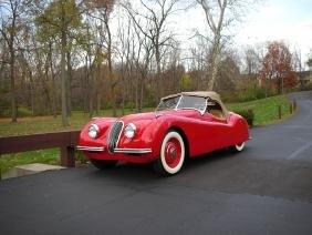 1950 Jaguar Xk120 Ots (nr) Cna Judged 100 Points