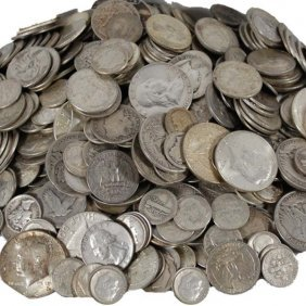 $10 Face Value Of 90% Silver Coins