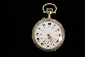 Unmarked Pocket Watch