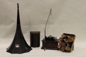 Thomas Edison Cylinder Record Player Model C