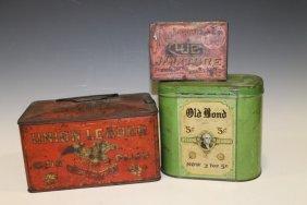 Cigar / Tobacco Advertising Store Tins - 19th C.