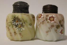 Victorian Erie Twist Salt Shakers