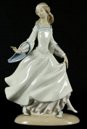 Lladro Figure Of Cinderella
