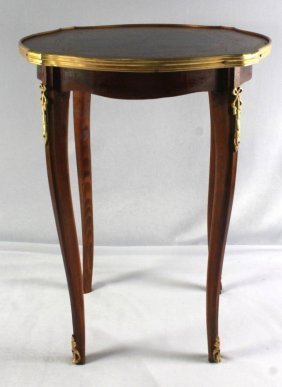 Small French Wooden Side Table
