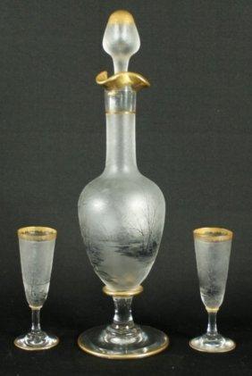 Daum Nancy 3 Pc. Glassware Set
