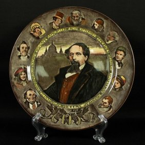 Royal Doulton Pictorial Porcelain Plate
