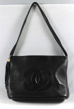 Black Chanel Style Bag