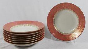 Set Of 8 Limoges Plates
