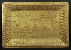 Egyptian Inlaid Tray