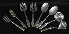 Set 8 Misc Sterling Cutlery/silverware