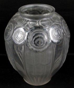 A. Hunbelle Crystal Vase