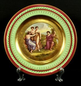Royal Vienna Pictorial Charger Plate