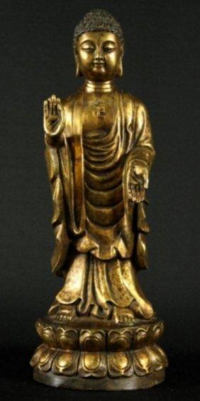 Bronze Figure Of Quan Yen