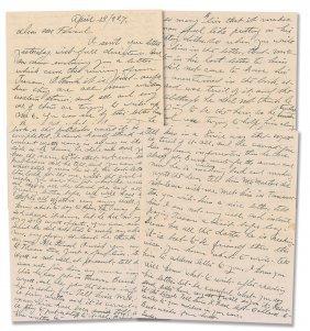 Josie Earp Letter