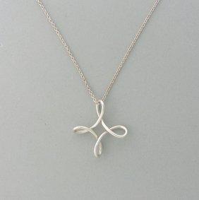Tiffany & Co. Peretti Silver Pendant