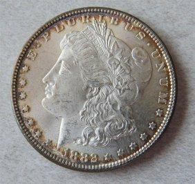 1882 Silver Morgan Dollar Us Coin