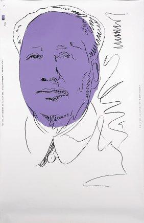ANDY WARHOL - Mao Wallpaper