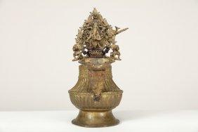 Arte Himalayana A Gilded Bronze Sukunda Nepal, 19th