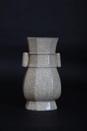 Hexagonal Porcelain Vase