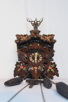 Black Forest German Cuckoo Clock