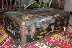 Extremely Rare Vintage Pre WWII Disney Trunk