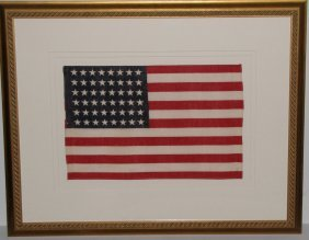 Framed American WWII Flag By Historical Americana