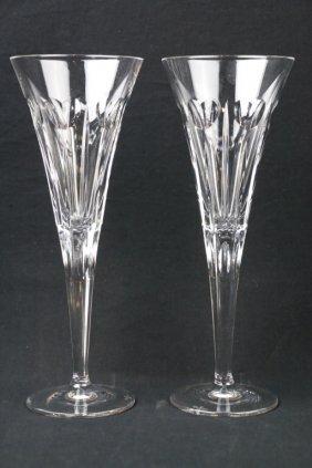 Waterford Millennium Champagne Flutes
