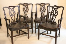 Mahogany Dining Chairs Set Of 4